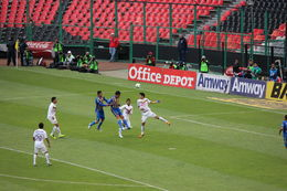 Photo of Mexico City Mexico City Soccer Match at Azteca Stadium Header