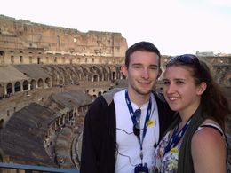 Photo of Rome Ancient Rome and Colosseum Tour: Underground Chambers, Arena and Upper Tier Honeymooning in Italy!