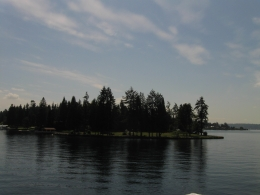 Photo of Seattle Lake Washington Cruise from Kirkland Hunt's point on Lake Washington