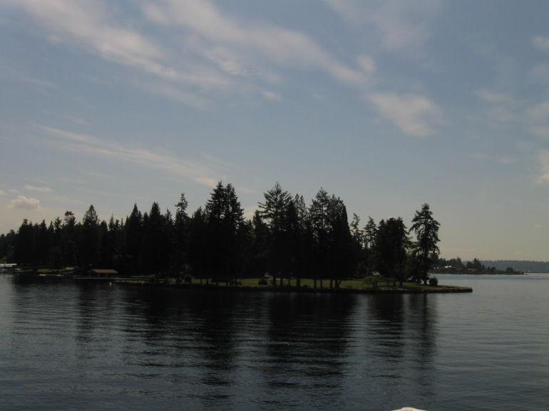 Hunt's point on Lake Washington - Seattle