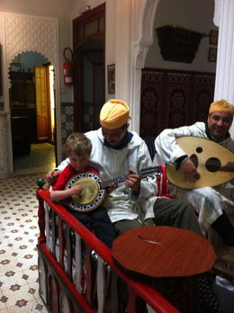 You too can be a Moroccan musician! , Sharon L M - April 2012