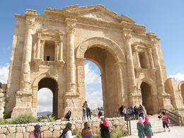 Photo of Amman Private Half Day Tour to Jerash Jarash Main Gateway