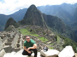 On top of Machu Picchu , Joshua D - December 2014