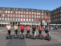 Segway fun in Madrid for ages 18 to 75, Kim G - September 2010