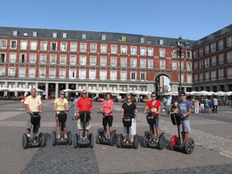 Segway fun in Madrid for ages 18 to 75