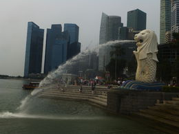 Merlion- symbol of Singapore , Celia W - November 2015