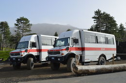 Photo of   Mount Etna Jeep/bus