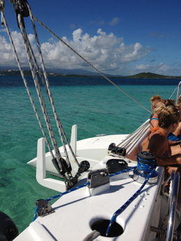 Photo of San Juan San Juan Snorkel and Picnic Cruise Ocean View form catamaran