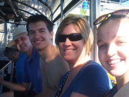Lotric family on the Glass Bottomed Boat , R.M L - July 2015