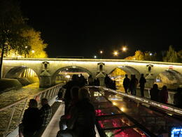 Photo of Paris Eiffel Tower Dinner and Seine River Cruise Seine at Night
