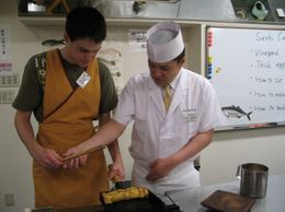 Photo of Tokyo Sushi Making and Tsukiji Fish Market Morning Tour from Tokyo The Master and the Student