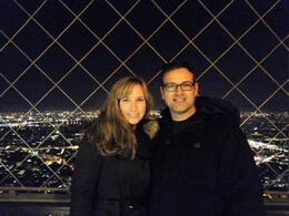 Photo of Paris Skip the Line: Small-Group Eiffel Tower Illuminations Tour Top of the tower
