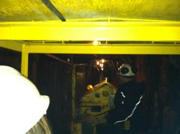 Taking the train deep into a real mine, taylor - June 2012
