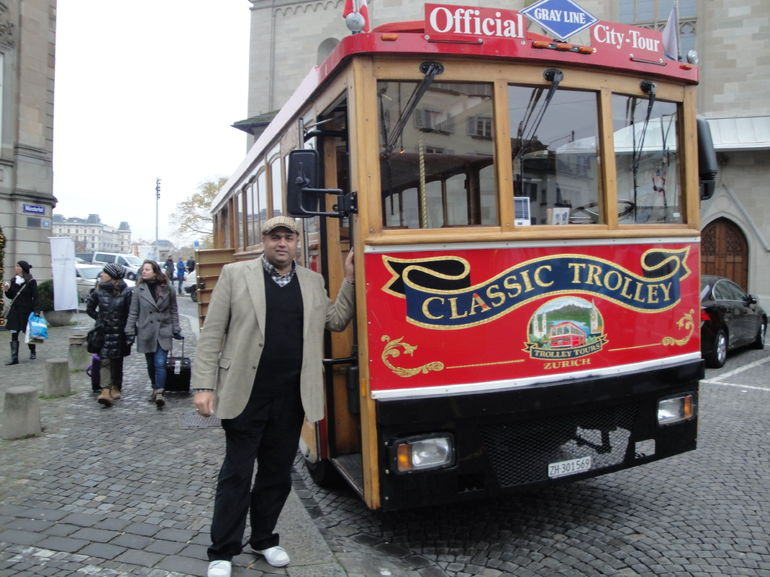 i am from London uk and trolley experience was very nice staff was very good and give good information which help you to understand the Switzerland culture and their system and living style