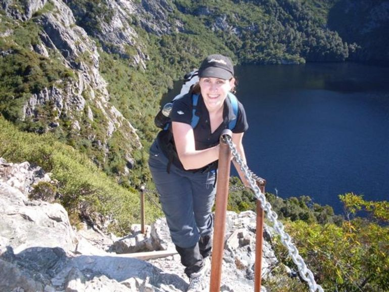Up to Marion's lookout -