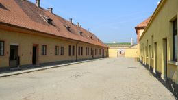 Photo of Prague Terezin Concentration Camp Day Tour from Prague View of the entrance.