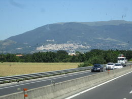 Approaching Assisi , Riikka H - June 2013