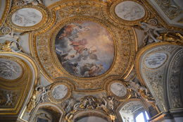 Photo of Paris Skip the Line: Paris Louvre Museum Guided Tour Art on the ceiling in one of the halls in the Louve