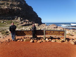 Photo of Cape Town Private Tour: Cape Point and Constantia Valley Wine Region from Cape Town At the Cape of Good Hope