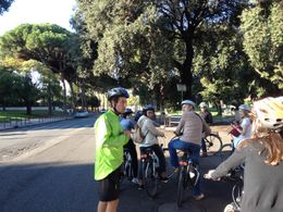 Bruno, our excellent tour guide, giving us initial instructions. , DMC1955 - October 2012