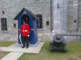 Ceremonial guard at the Citadel of Quebec - December 2011