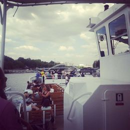Photo of Paris Seine River Cruise: Sightseeing with Optional Aperitif or Snack Champagne Cruise on the Seine.