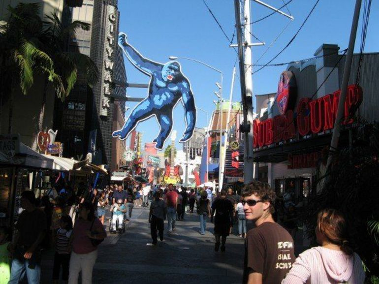 CityWalk at Universal Studios Hollywood - Los Angeles