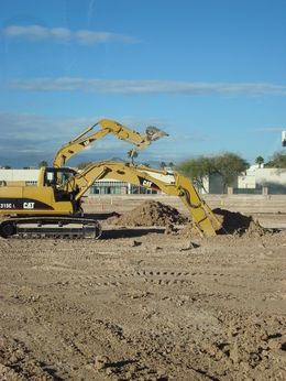 Photo of Las Vegas Dig This: Heavy Equipment Playground Digging holes