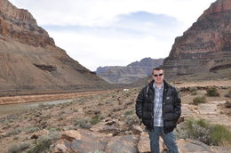 The bottom of Grand Canyon , Chris Hord - March 2014