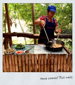 Photo of Bangkok Khao Yai National Park and Elephant Ride Day Trip from Bangkok Home cooked Thai meal