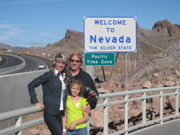 On the State Line at Hoover Dam. , Dan C - May 2011