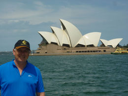 Here's a picture of an icon - and in the background you can see the Sydney Opera House ;-] , Eric M - November 2012