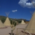 Indian tipi's at the ranch