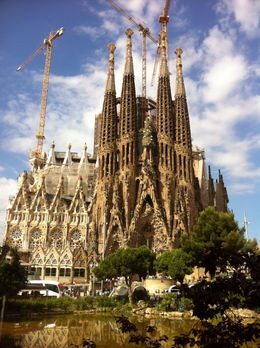 Photo of   La Sagrada Familia