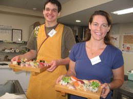 My nephew and I are sushi chefs now!, James O - August 2010