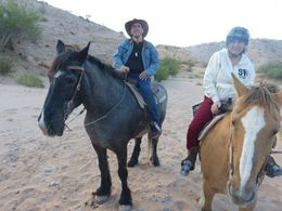 photo of both of us out on the trail ride , Stephen B - May 2014