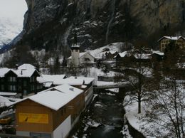 Waterfalls and snowy villages - December 2009
