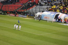 Photo of Mexico City Mexico City Soccer Match at Azteca Stadium Penalty