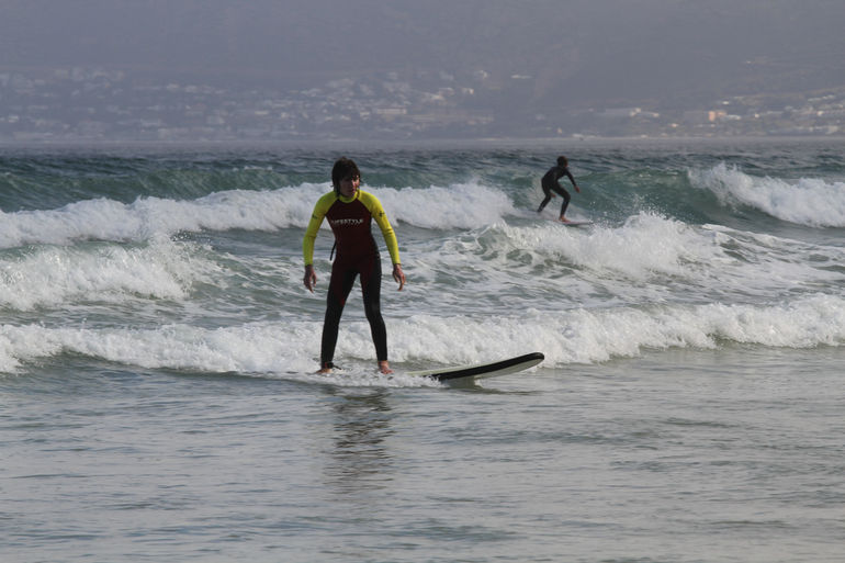 Surfing at Cape Town - Cape Town