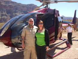 Photo of Las Vegas Grand Canyon All American Helicopter Tour The newlyweds