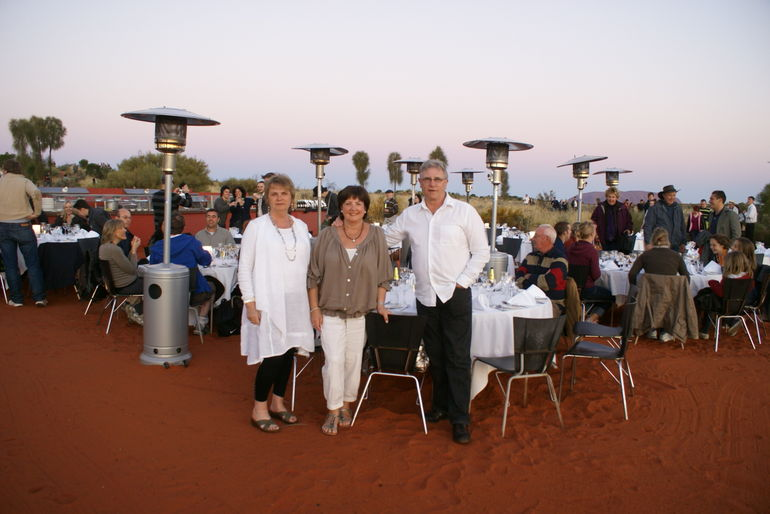 The Sound of Silence Dinner - Ayers Rock