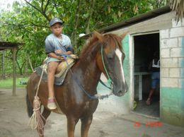 Photo of Punta Cana Dominican Republic Mega Truck Safari Village child