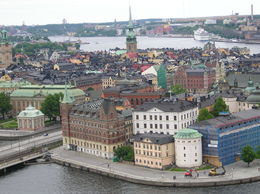 Photo of Stockholm The Stockholm Card vista de Estocolmo desde la torre del ayuntamiento