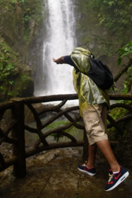 My boyfriend at the waterfall..., Shaundrea M - September 2010