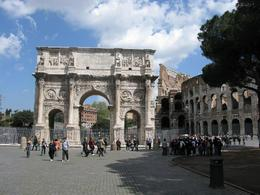 Photo of Rome Skip the Line: Ancient Rome and Colosseum Half-Day Walking Tour Arch of Constantine