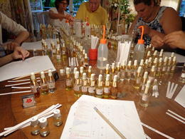 Photo of Paris Perfume Workshop in Paris Blending scents
