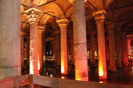 Basilica Cistern. , Tiny Traveler - October 2013