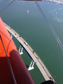 Photo of San Diego Open Cockpit Biplane Sightseeing Ride Coronado Bridge