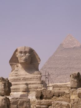 The Sphinx and Great Pyramid , Trine - March 2011