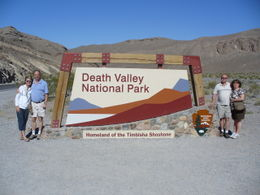 Photo of Las Vegas Death Valley Day Trip from Las Vegas Entrance to Death Valley national park.